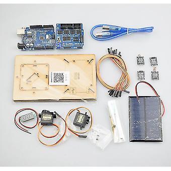 الروبوتية لعب arduino الذكي معدات تتبع الطاقة الشمسية الجذعية أجزاء البرمجة sm164256