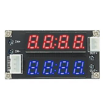 1Kpl xl4015 5a säädettävä teho cc/cv step-down latausmoduuli led kuljettaja volttimittari ammeter vakiovirta vakiojännite