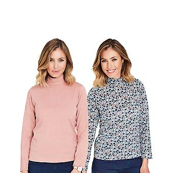 Amber Amber Turtle Neck Top Pack 2