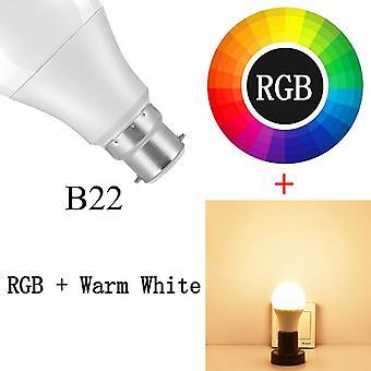 20 lägen av Smart Bulb Bluetooth-kompatibel ledlampa Rgb-ljus
