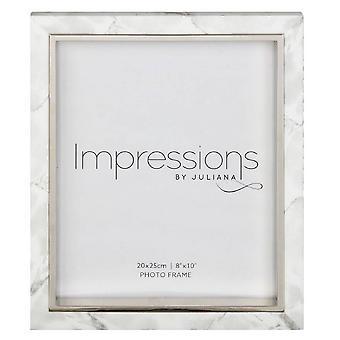 Juliana Impressions Marble Look Frame 8x10 - White