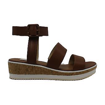 ED Ellen DeGeneres Womens Stassi Leather Open Toe Casual Platform Sandals
