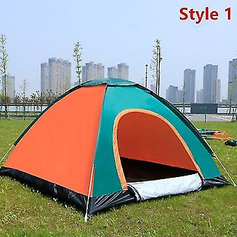 Ball pits outdoor camping folding automatic tent 2 people beach simple quick opening automatic tent