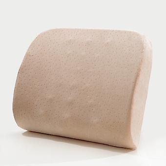 Slow Rebound Memory Baumwolle Taille Rest Office Taille Kissen Auto Rückenlehne Taillenschutz Massage Kissen Rücken & Lendenwirbelstütze Kissen