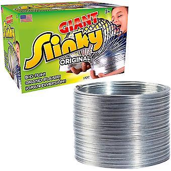Jouet en métal géant Slinky