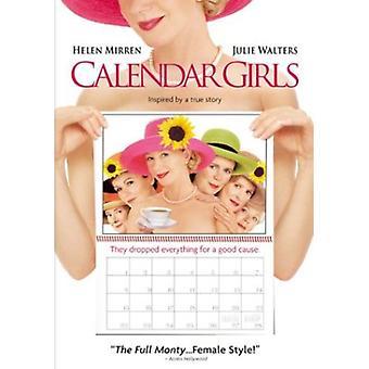 Calendar Girls [DVD] USA import