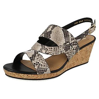 Ladies Van Dal Slingback Wedge Summer Sandals Bray