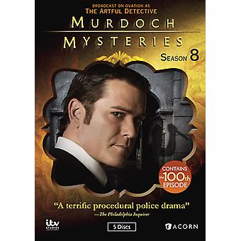 Murdoch Mysteries: Staffel 8 [DVD] USA import