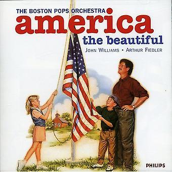Williams/Fiedler/Boston Pops Orch. - America S.U.A. Beautiful [CD] importare