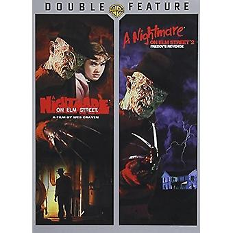 Cauchemar sur Elm Street 1 et 2 [DVD] USA import