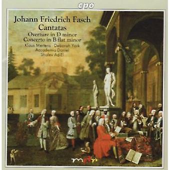 J.F. Fasch - Johann Friedrich Fasch: Cantatas [CD] USA import