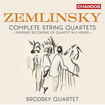 Zemlinsky / Brodsky Quartet - quatuors à cordes [CD] USA import