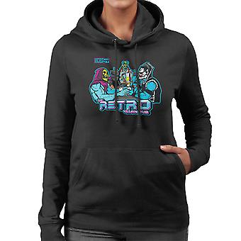 Retro schurk Pub vrouwen Hooded Sweatshirt