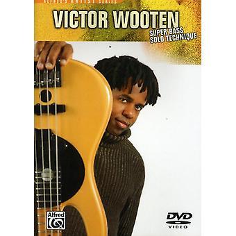 Victor Wooten - Super Bass Solo [DVD] USA import