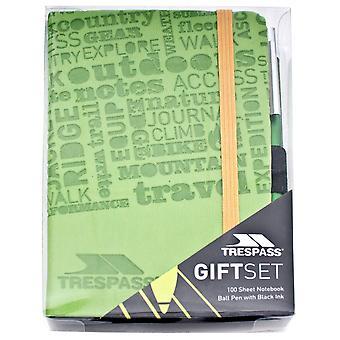 Trespass Jot Pad And Pen Giftbox
