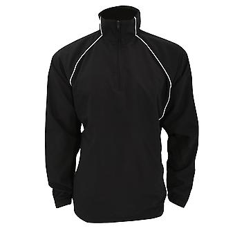 Finden & Hales Adults Unisex Team 1/4 Zip Sports Overtop