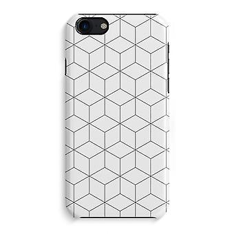 iPhone 7 pełny głowiczki (błyszcząca) - moduły czarno-białe