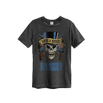 Förstärkt Guns N Roses använda din Illusion mäns T-Shirt