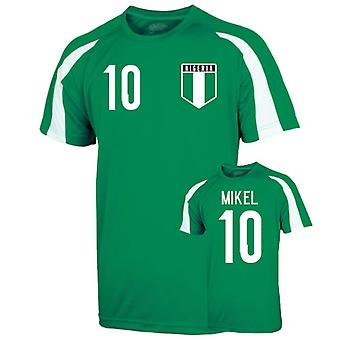 Nigeria Sports Training Jersey (mikel 10)