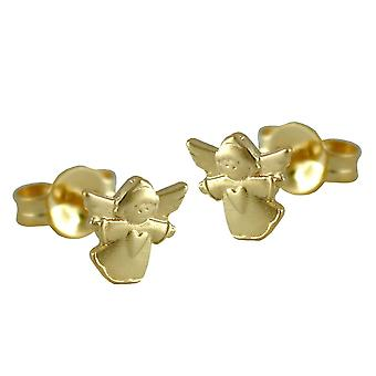 Earrings Angel earring Angel ANGEL flying angels, 9 KT GOLD 375