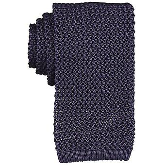 KJ Beckett Copiativo Knitted Tie - Purple