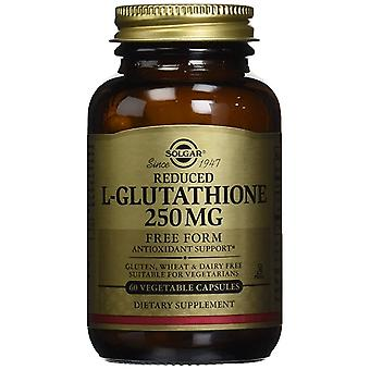 Solgar Reduced L-Glutathione 250 mg Vegetable Capsules 60 Ct