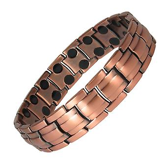 MPS® APOLLO DOUBLE Copper Rich Magnetic Bracelet + Free Links Removal Tool