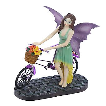 Aurora Knight Cycle Time Fairy Figurine