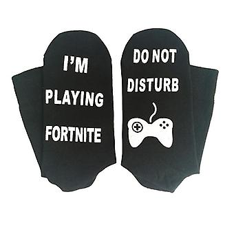 Fortnite socks with anti-slip protection