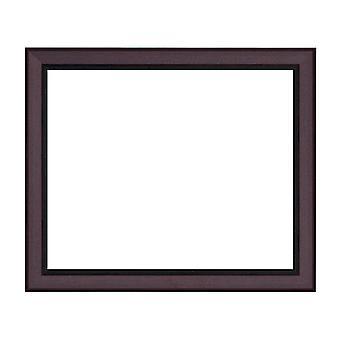 50x70 cm or 20x28 inch, wood frame in oak