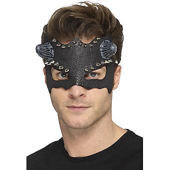 Diabol hustý Eyemask, čierna