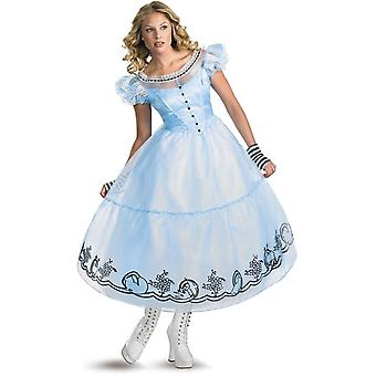 Deluxe Alice In Wonderland Adult Costume