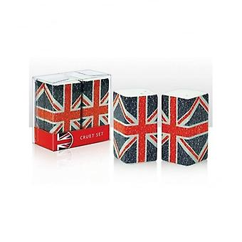 Union Jack use Union Jack tipografía vinagreras conjunto