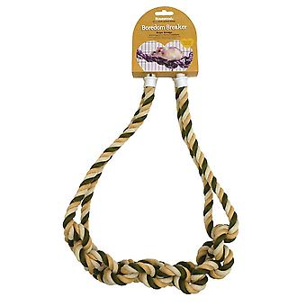 PALISANDER små dyr aktivitet legetøj rotte Rope Bridge kedsomhed Breaker