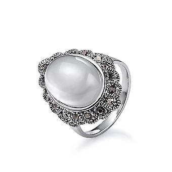 Intrigue femmes/dames Vintage look Ring