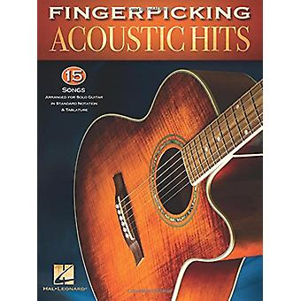 Fingerpicking Acoustic Hits by Hal Leonard Corp - 9781495064265 Book