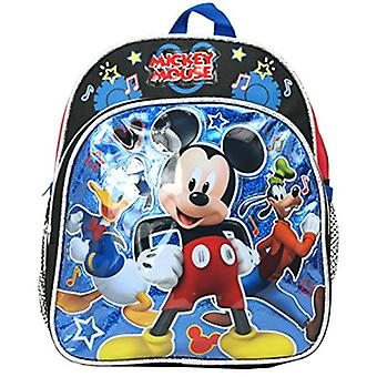 Mini Backpack - Disney - Mickey Mouse w/Donald Goofy 10