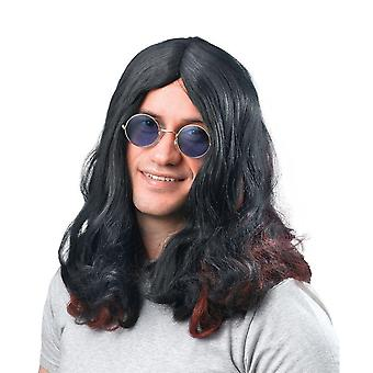 Bristol Novelty Mens Rocker Wig