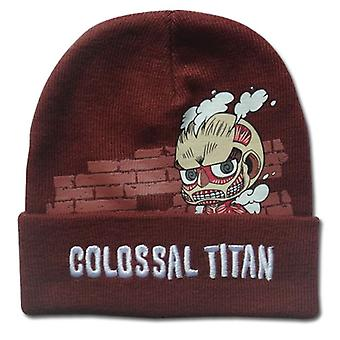 Beanie Cap - Attack on Titan - New SD Colossal Titan  Licensed ge32489