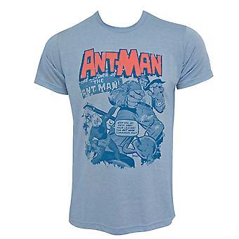 נמלה-מאן חיות מחמד גברים ' חולצת טריקו כחול s