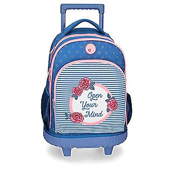 Roll Road Rose Backpack 43 centimeters 28.9 Blue (Azul)