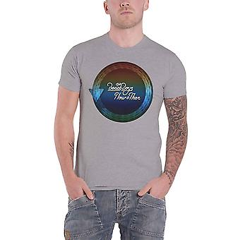 The Beach Boys T Shirt Now & Then Time Capsule Band Logo new Official Mens Grey
