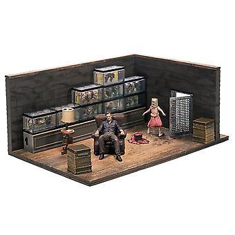 Walking Dead kuvernööri huoneen rakennus setti
