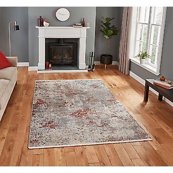 Athena Think 18597 grå Terra rektangel mattor traditionella mattor