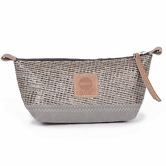 360 degree Navigator pencil case grey from canvas/why