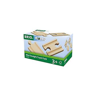 Brio 33393 Brio Mini Straight Track ( Double In & Outs)