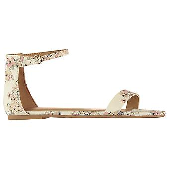 Aldo Womens Babbel Ankle Strap Open Toe Casual Flats Sandals Summer Shoes