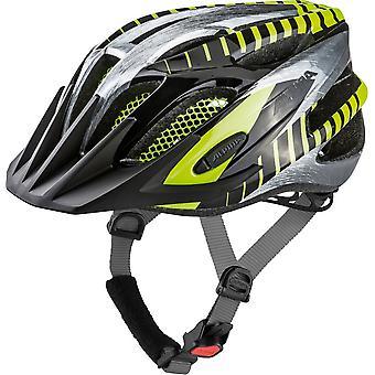 Alpina FB Junior 2.0 Kinder-Fahrradhelm // black/steelgrey/neon