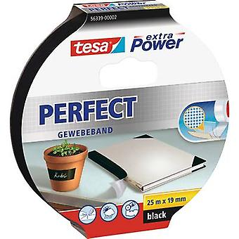 tesa 56339-02-01 Kangasteippi tesa® Extra Power Black (L x W) 25 m x 19 mm 25 m