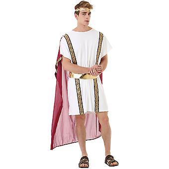 Römischer Kaiser Erwachsenen Kostüm, L